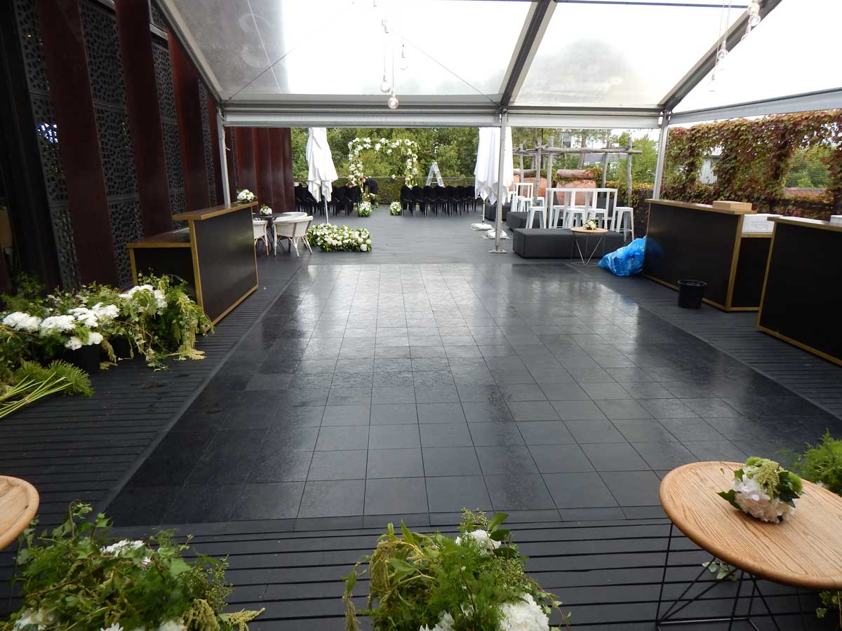 The Deck dance floor