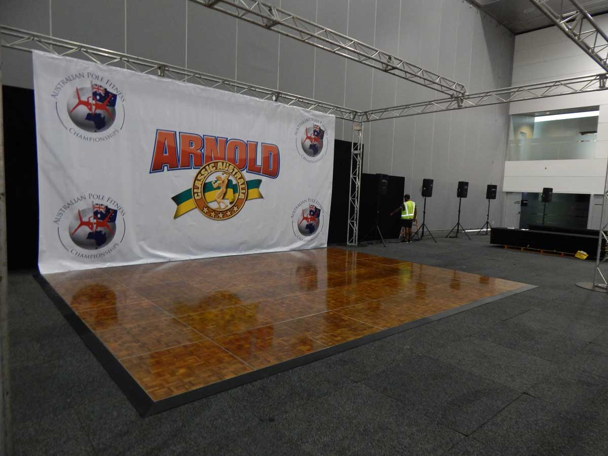 arnie classic dance floor hire melbourne